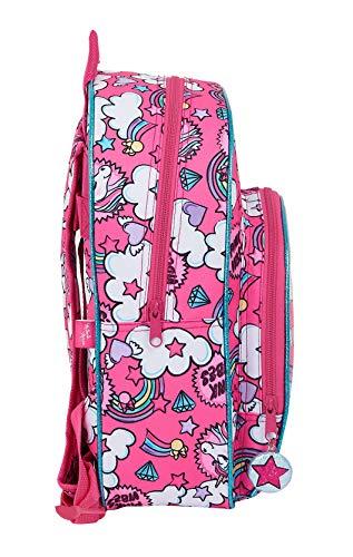 5126AfBNzgL - Mochila Infantil de Minnie Mouse de safta 612012609, Color Rosa