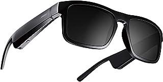 Bose Frames Tenor - Rectangular Polarized, Bluetooth Sunglasses with Mic– Black