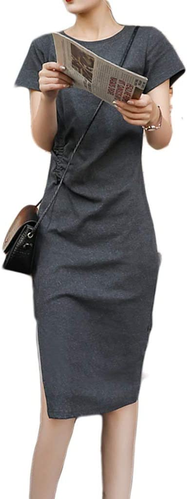 SALENEW very popular! Dress,Women's Cocktail San Antonio Mall Formal Swing Dress Cotton Secti Long