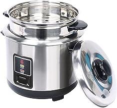 Roestvrijstalen stoomboot rijstkoker, One-Button Control roestvrijstalen binnenpot, geschikt voor 1-5 personen Multifuncti...