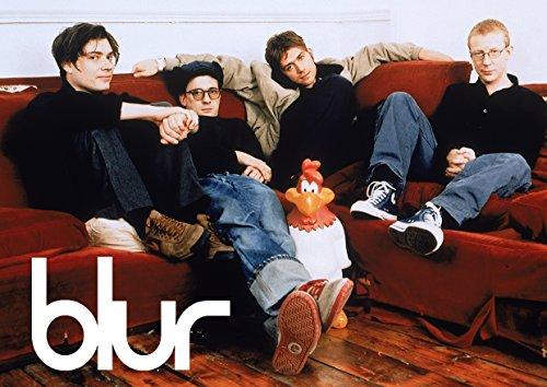 Blur # 6–90's Indi Band–Damon Albarn–Band–Musik Legenden–A3Poster–Kunstdruck–Bild