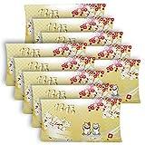 マスクケース お年賀 招福 まねき猫 マスク猫 使い捨て 持ち運び 紙製 不織布 マスク 10個