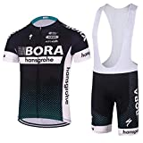 Wulibike Maillot Cuissard Cyclisme Homme Manche Courte Tenue Velo Route Equipe Pro...