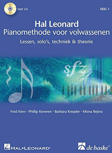 Hal Leonard Pianomethode Voor Volwassenen 1: Lessen, Solo\'s, Techniek & Theorie