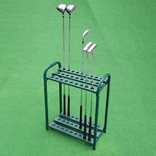 KOFULL Golf Club Organizers Metal Golf Club Display Shelf-Store 27 Clubs