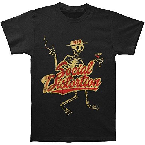 Social Distortion Vintage 1979 - T-shirt - Manches Courtes - Homme, Noir (Black), XX-Large