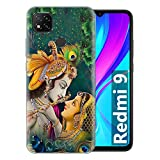 Fashionury Printed Soft Silicone Designer Pouch Mobile Back Cover for Mi Redmi 9 Case and Covers | for Boys & Girls -P028