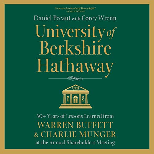 University of Berkshire Hathaway audiobook cover art