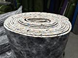 Luxury 10mm Thick PU Carpet Underlay Rolls | 11m Long / 1.37m Wide for 15m² Total Area | UK Manufactured Quality Luxury Feel