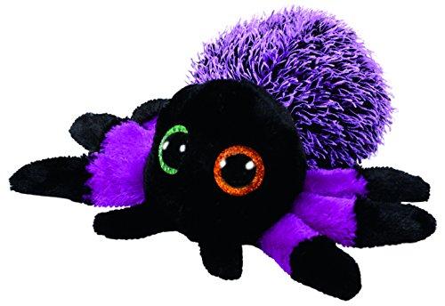 Ty Beanie Boos Halloween Creeper-Araña Púrpura 15 cm (