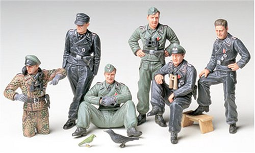 Tamiya Tankistes Allemands