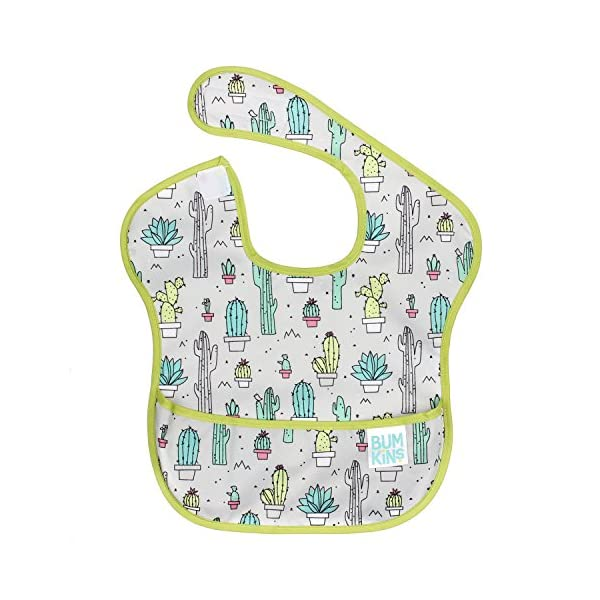 Bumkins SuperBib, Baby Bib, Waterproof, Washable, Stain and Odor Resistant, 6-24 Months