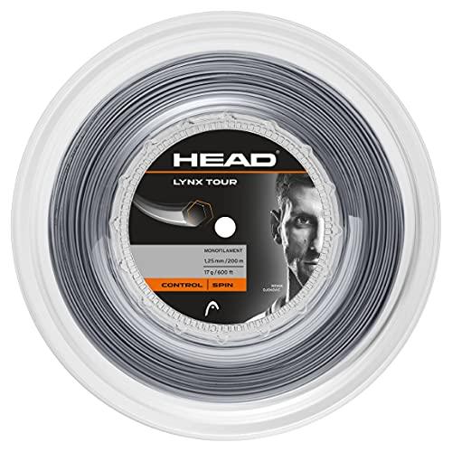 HEAD Lynx Tour Reel, Racchetta da Tennis Unisex Adulto, Grigio, 17