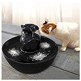 WYJW Fuentes de Agua para Mascotas Smart Smart para Gatos y Perros Fuente de alimentación eléctrica automática para Mascotas Tazón para Beber Agua oxigenada para Cachorros Bebedero Live Spring (C