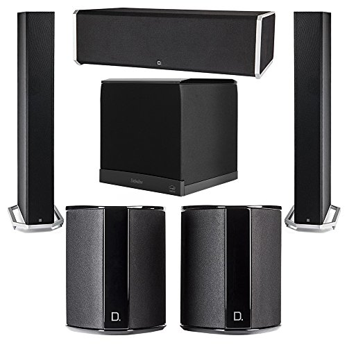 Review Definitive Technology 5.1 System with 2 BP9060 Tower Speakers, 1 CS9080 Center Channel Speake...