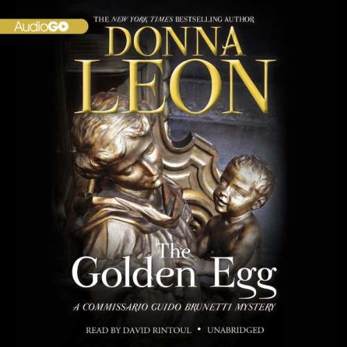 The Golden Egg audiobook cover art