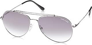 FT0497 18B Shiny Rhodium Indiana Pilot Sunglasses Lens Category 2 Size