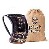 Divit Autentico Corno Vichingo Boccale - 700 ml (Hot Horn Mug)...
