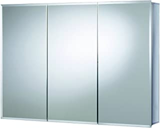 Croydex Burwell 30-Inch x 48-Inch Triple Door Tri-View Cabinet with Hang 'N' Lock Fitting System