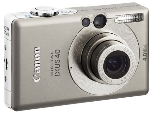 Canon Digital IXUS 40 Digitalkamera (4 Megapixel)