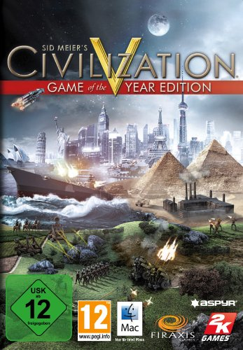 Civilization V: Game of the year edition - [Mac]