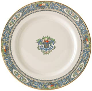 Lenox Autumn Gold Banded Ivory China Dinner Plate by Lenox