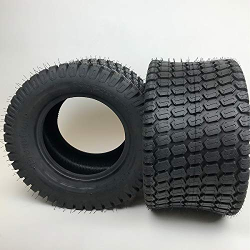 24x12.00-12 4Ply Lawn Mower Tire - Set of 2