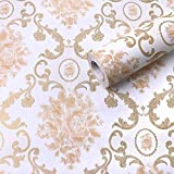 Jaamso Royals Wallpaper Removable Peel and Stick Self Adhesive Film Stick Paper PVC