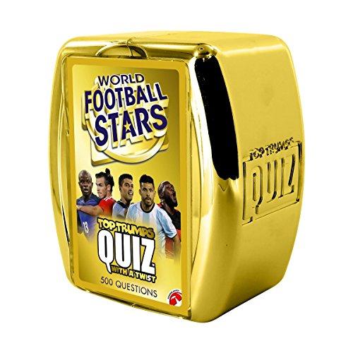 Winning Moves Top Trumps   032193   World Soccer Stars Quiz