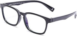AZORB Kids Blue Light Blocking Glasses TPEE Rubber Eyeglasses for Girls Boys Age 3-12
