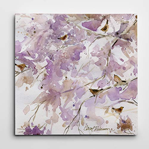 WEXFORD HOME 'Lavender Spring II Gallery Wrapped Canvas Wall Art, 16x16