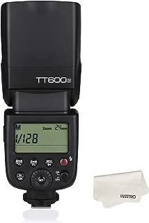 【電波法認証取得】Godox TT600S カメラフラッシュ 2.4GワイヤレスXシステム内蔵 LCDパネル搭載 Sony DSLRカメラ用