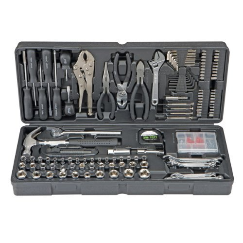 OKSLO Pittsburgh 130 Piece Tool Kit with Case