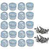 Muebles Almohadillas de Protección para Pies, 20 piezas