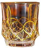 Bicchiereda liquore Unico Whisky Glass, Vetro per Vecchio Stile, 300 ml, 12,6 Once, 6