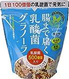 幸福米穀 乳酸菌グラノーラフルーツ&ナッツ 250g×3袋