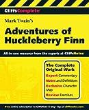 Adventures f huckleberry Finn (Cliffs Complete Study Editions)