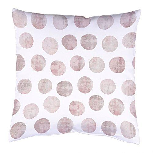 Home Wohnideen Kissenhülle Digitaldruck Kreise 40 x 40 cm Rose