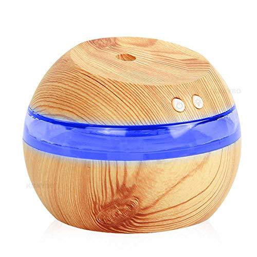 YSNMM 290 ml USB aromatherapie diffuser voor etherische oliën draagbare mini ultrasone mist fris aroma luchtbevochtiger voor kantoor thuis