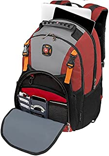 """SwissGear Sherpa Backpack with 16"""" Laptop Pocket, Red"""