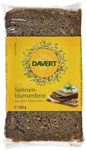 Davert Sonnenblumenbrot,6er Pack (6x 500 g) - Bio