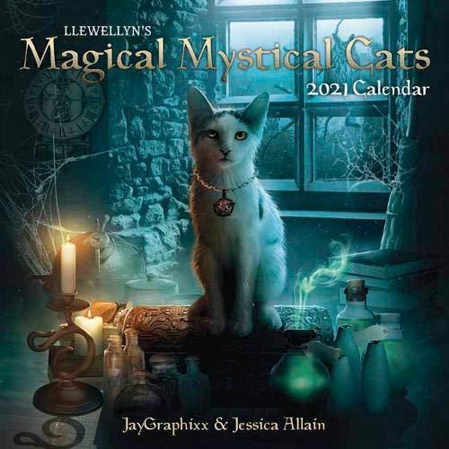 Llewellyn's 2021 Magical Mystical Cats Calendar