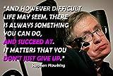 Stephen Hawking Poster Zitate Physik Poster Wissenschaft