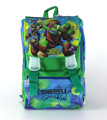 ZAINO ESTENSIBILE TEENAGE MUTANT NINJA TURTLES CM 41X30X13 (+7)