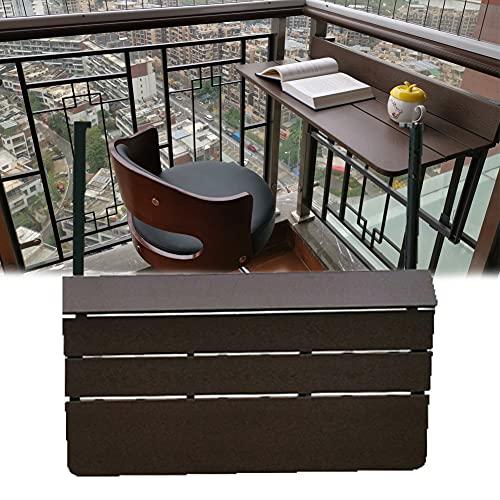 Plegable de Balcón Grande de Escritorio de para Espacio Pequeño con Fácil de Instalar, Material Resistente, Tamaño 60 / 27CM * 23.62 o 37CM,B Width 37CM