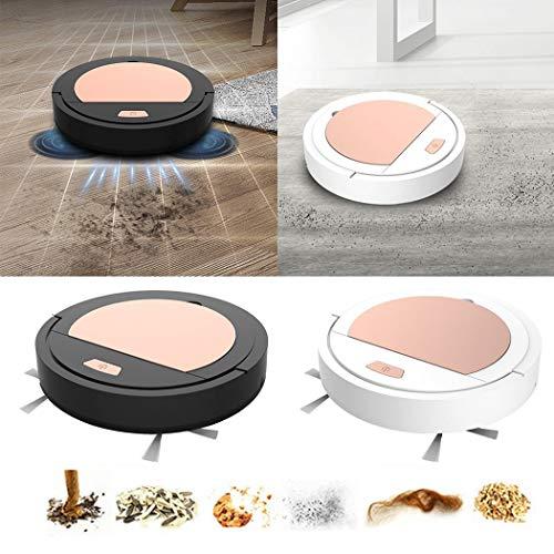 pikins Robot de Barrido Inteligente para el hogar Mop Barrido de succión USB multifunción Aspiradoras