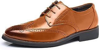 [イフユ] ビジネスシューズ メンズ 革靴 紳士靴 ウイングチップ ビッグサイズ有り ストレートチップ ドレスシューズ 通気性 空気循環 消臭 衝撃吸収 軽量