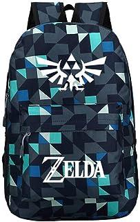 Dawn BG Anime Zelda Backpack Kids Bookbags Durable Travel School Bag (C, One_Size)