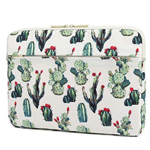 KAYOND 13 inch Laptop Sleeve, Compatible MacBook air 13.3 MacBook pro 13.3 and 12.5-13.3 inch Notebook Computer, Water Repellent Laptop Bag,Shockproof case (13-13.3 inch, Cactus)