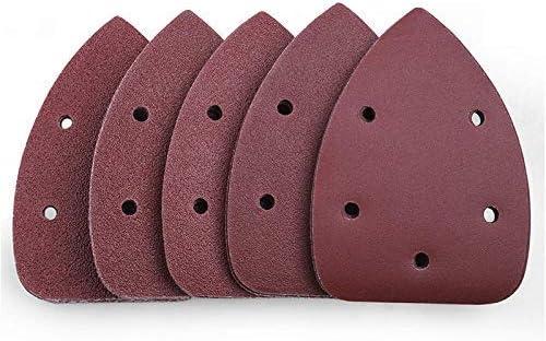 JF-XUAN 50Pcs Mouse Detail Sander Sandpaper Gri 80 60 Gorgeous 40 Max 52% OFF 100 240